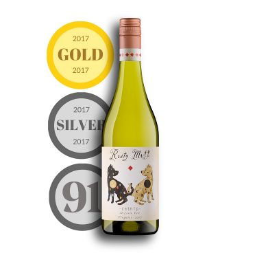 2017 Viognier top down with medals