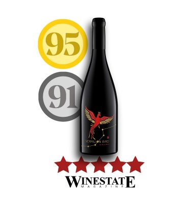 Vermilion Bird Shiraz 5 stars winestate