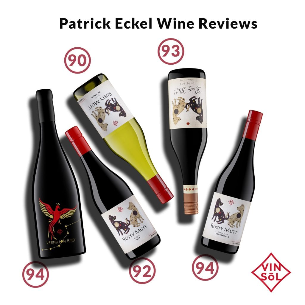 Rusty Mutt Wine Reviews by Patrick Eckel